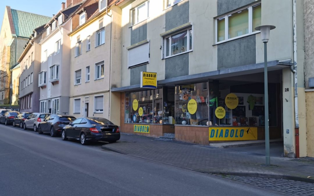 Ladenlokal in der Bielefelder Altstadt