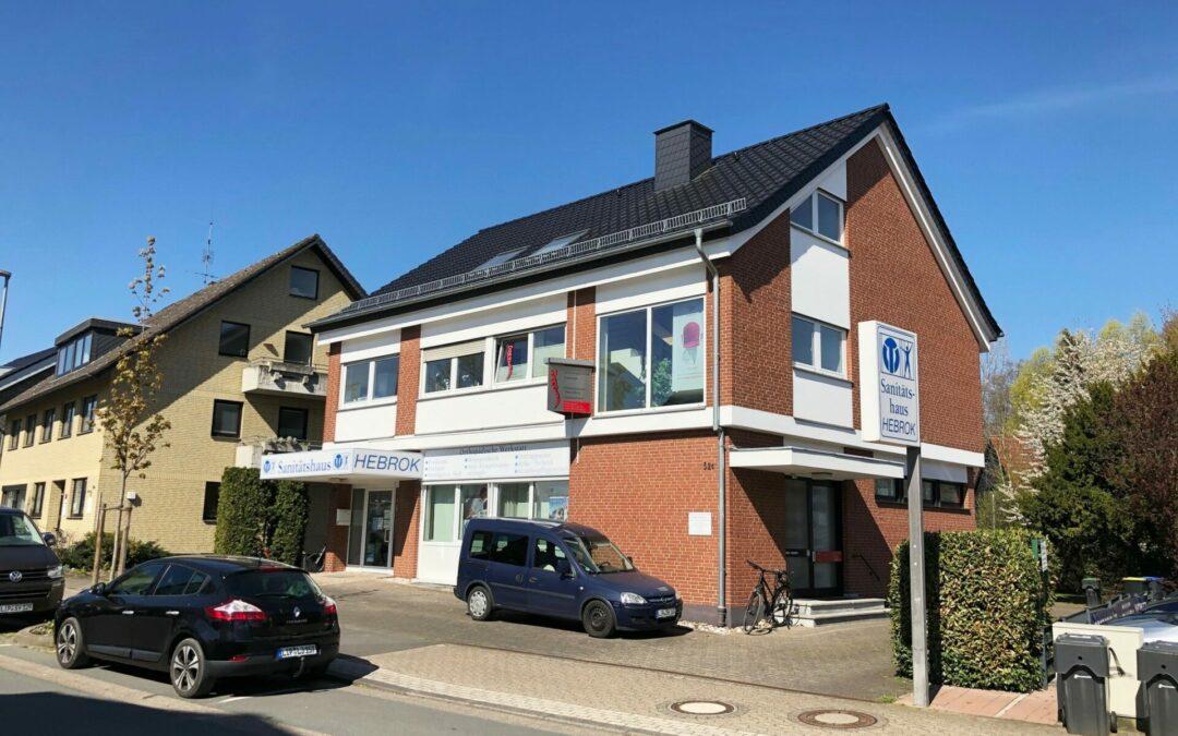 Solide Kapitalanlage ! Sehr gepflegtes Wohn – und Geschäftshaus in Bad Salzuflen !