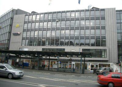Veranstaltungsfläche mit Blick auf den Jahnplatz